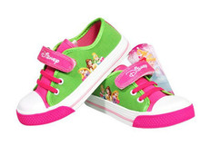 Children Kids Girls Boys Cartoon Barbie Casual Canvas Sneakers Shoes