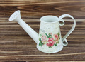 2015 new design paper decal metal craft watering can made in china wholesale