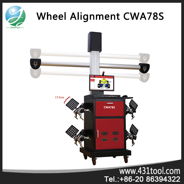 used 3d 4 wheel wheel alignment machine for Car