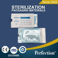 Disposable heat sealing sterilization pouch for medical instruments packaging