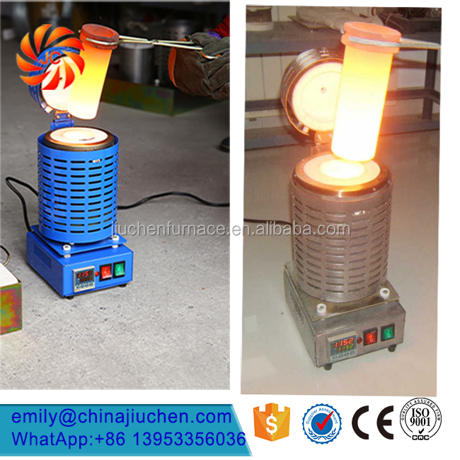 110V 3kg Portable Small <strong>Manufacture</strong> Furnace for Metal Melting Gold