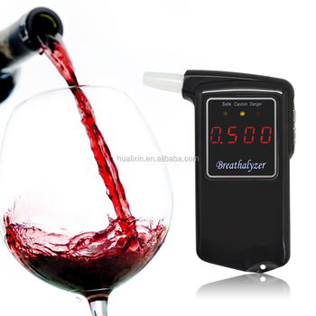hualixin AT-858 Gadgets Promotion Green Bluetooth Alcohol Tester Alcohol Test Breath Tester Car Accessories CE&ROHS