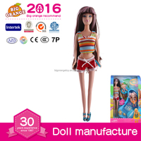Lady Style Baby Doll With Swim Board Toys For Kids 2016