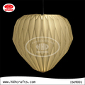 Origami hanging heart shaped paper lamp shade of wedding decorations