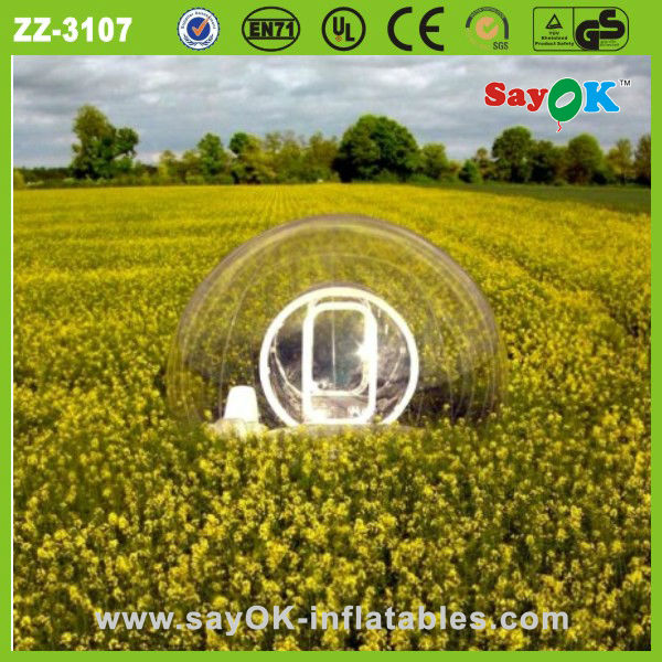 hot sale star clear inflatable air dome lawn tent circus for sale