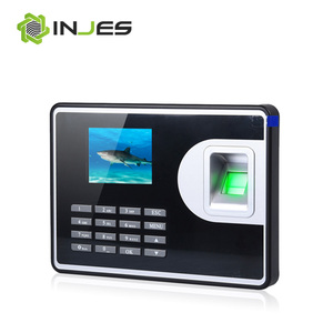LCD Monitor TCP IP USB WIFI Attendance System gsm biometric identification system