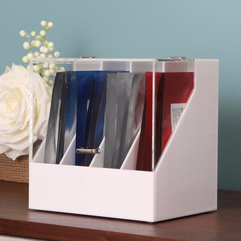 Customized Transparent  Acrylic Facial Mask Divide Display Box