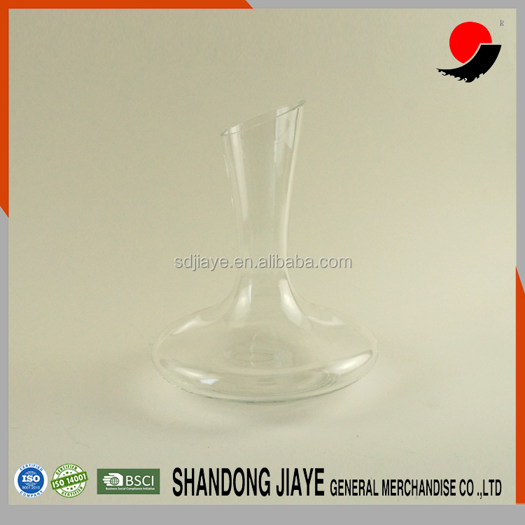 Bulk Glass decanter crystal cheap unique wine decanter for red wine, whiskey, brandy