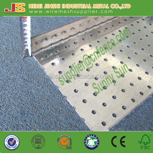 103*<strong>1000</strong> 2.5mm thickness 50mm height building use hot dipped galvanized plate perforated U channel brick steel lintel
