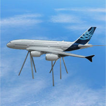 big scale plane model aircraft model airbus 380 model 500cm tender supplier OEM manufacturer display or meeting, promotion