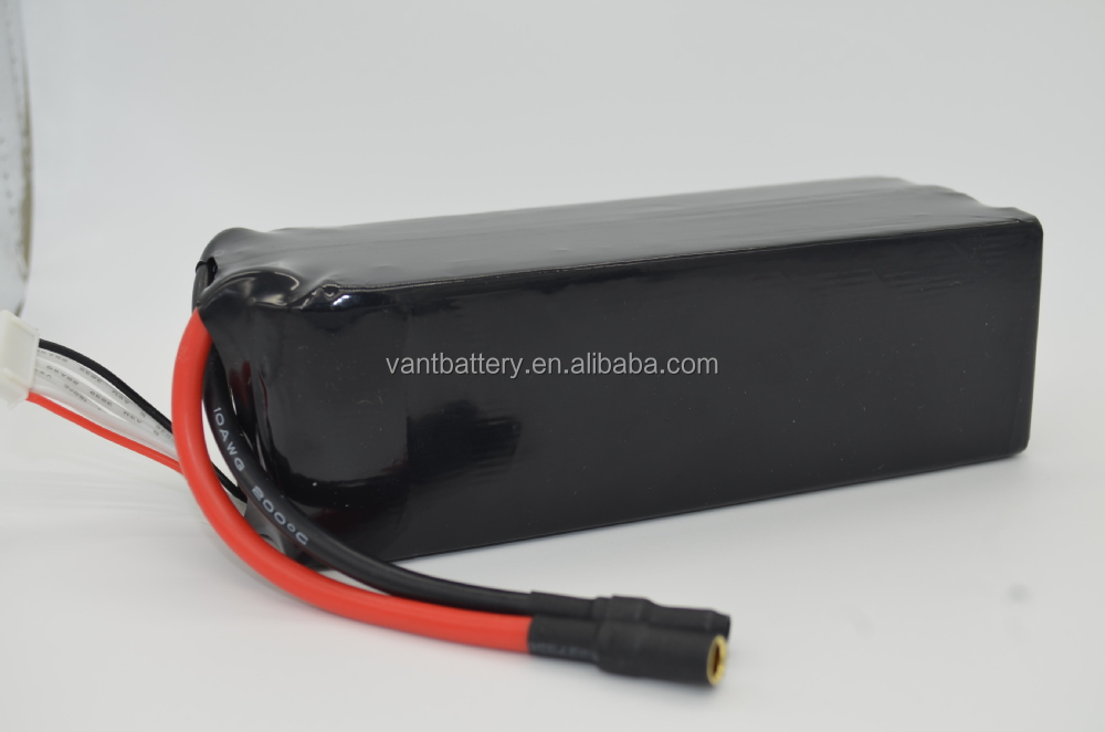 Hot wholesale! 2017 20000mAh 22.2V 25C 6S Lipo Battery For Quadcopter DJI S800 / DJI S1000 Other UAVs LiPO Battery Pack