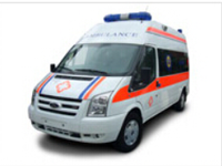 Ford transit long wheel base middle roof ICU ambulance