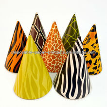Wild Animal Skin Party Hats