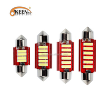 Festoon Canbus Auto Side Indicator Lights C5W 31MM Error Free Car LED 6SMD Roof Top Interior Lamp For Cars