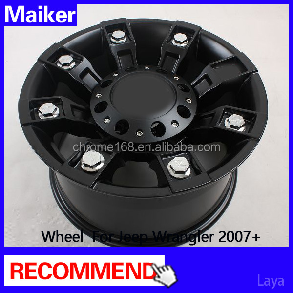 17 inch alloy wheels for wrangler Jk auto accessories wheels rims from maiker