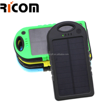 Waterproof portable charger power bank, Solar power bank Battery solar charger for iPhone Samsung HTC