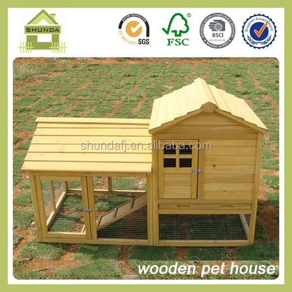 SDR02 wooden outdoor decoration rabbit house