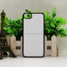 New Product 2d blank sublimation hard pc mobile cover case for iphone 8