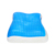 Hypoallergenic Memory Foam Ice Cool Gel Contour Pillow With Removable Cover