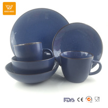Western color glazed jogo de jantar, halloween dinnerware set stock