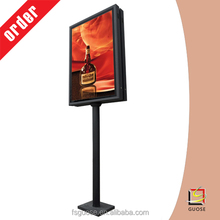 metal sign holder poster stand restaurant sign board designs