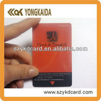 Magnetic card hotel safe with car paint color codes