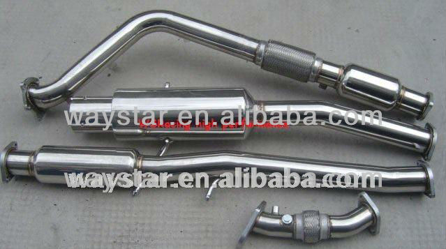 304 stainless steel exhaust system for Subaru GDB 01-07 exhaust