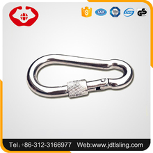 Factory directly sale alloy material stainless steel metal snap hook