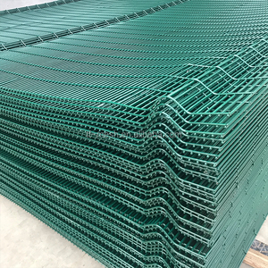 New design best price clearvu invisible wall 358 weldmesh
