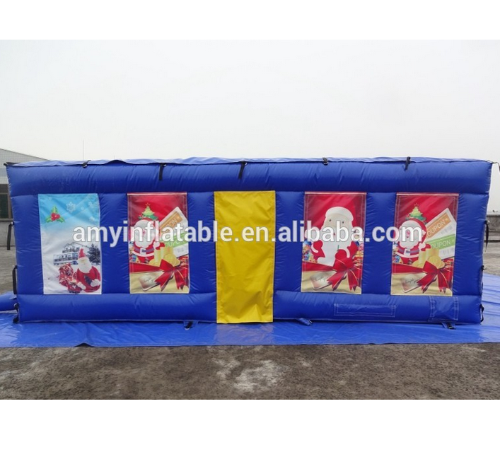 PK Kids Outdoor Sports Game Inflatable Tunnel Cheap Maze Game For Sale