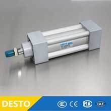 Double Acting 80 mm bore 3 inch bore SI cylinder ISO15552 Tied Rod Piston Air Cylinders