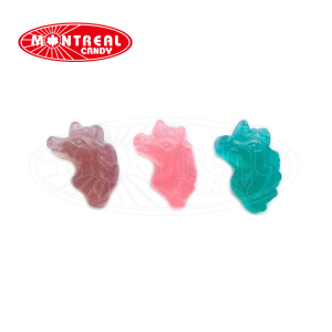 Unicorn Shape Sweet Gummy Candy