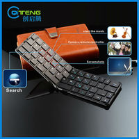 Flyshark iLepo 360 top sale mini wireless keyboard for android, foldable wholesale mini bluetooth keyboard