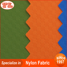 Ripstop nylon 70D vague plaid nylon fabric with pu coated for bags
