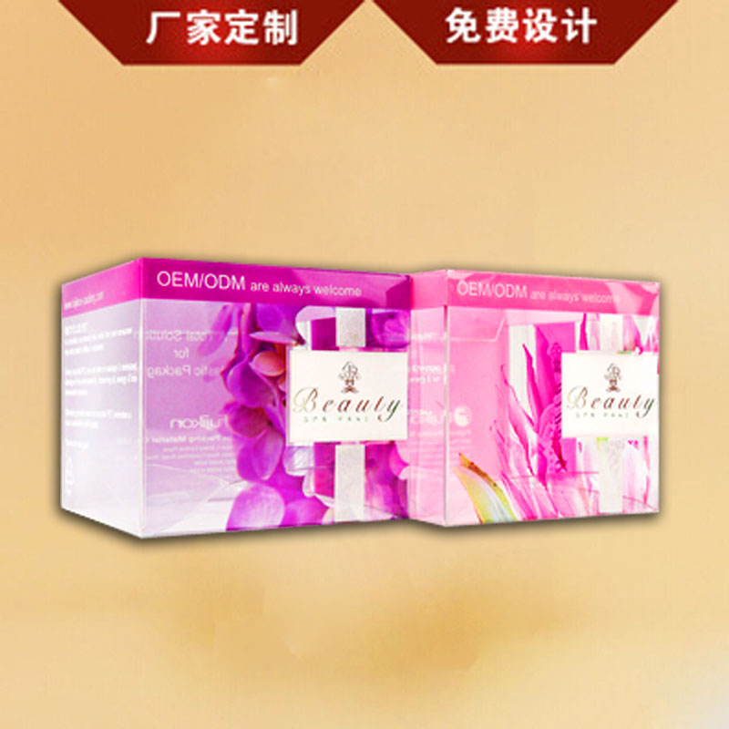 Fashion plastic folding box, made of PP PET PVC, offset or silk screen printing