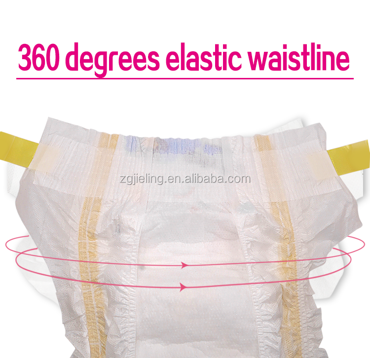 colored disposable private label OEM breathable baby diaper