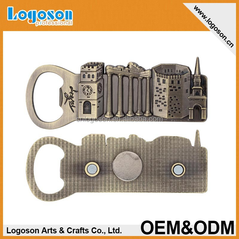 Popular souvenir gifts custom Guard Bottle Opener