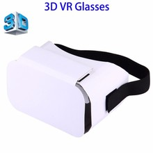 No MOQ Limit Cardboard 1.0 3D VR Glasses, VR Cardboard for 4 to 6 inch Smartphones