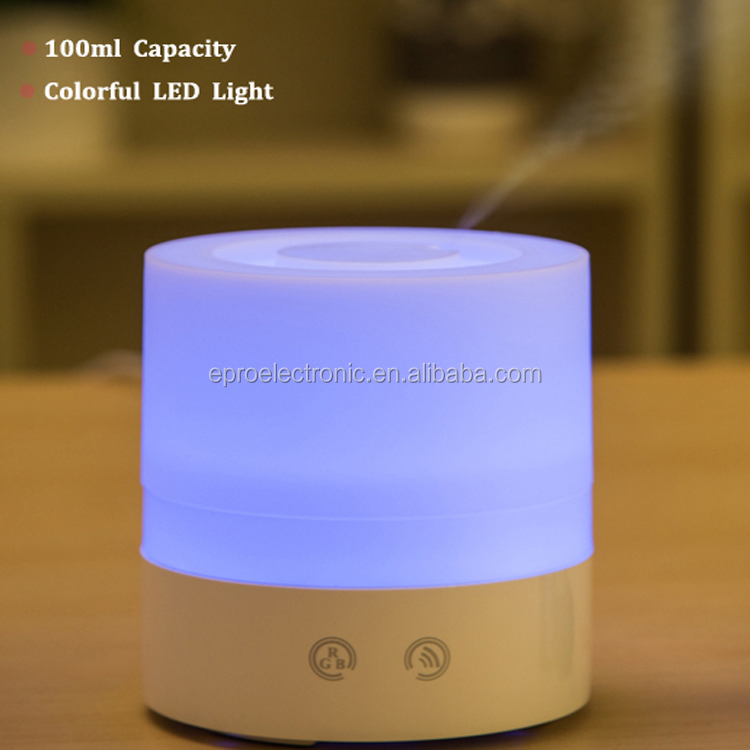 USB LED light ultrasonic Aromatheraphy Diffuser for home,office