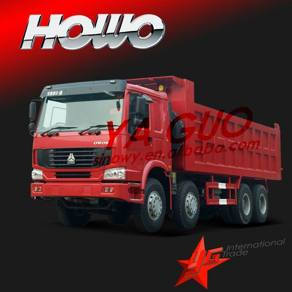 howo better than scania 8x4 tipper