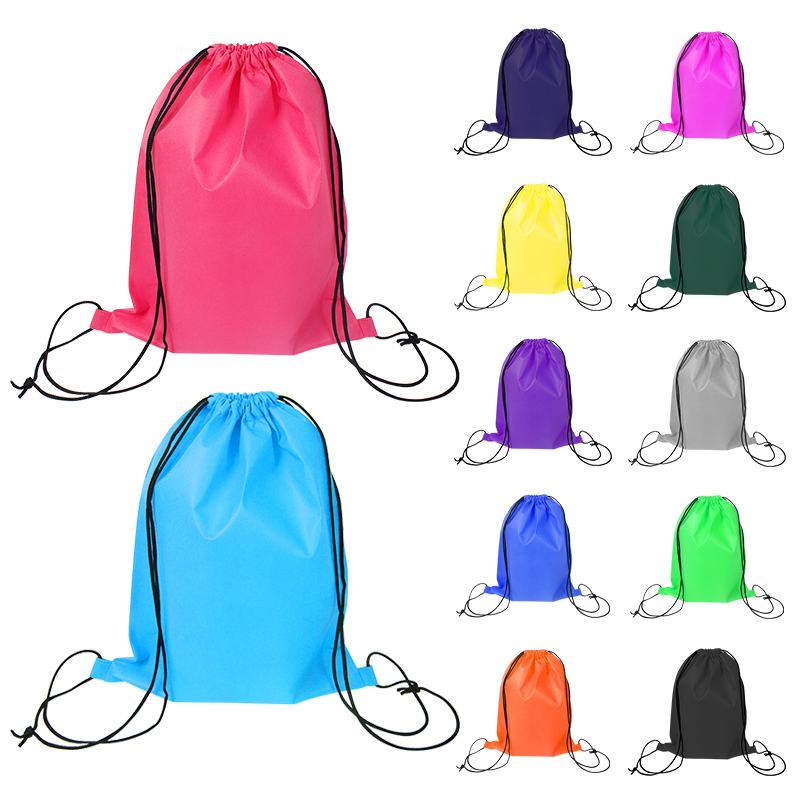 Eye-catching fitness hiking backpack bag drawstring