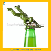 Wholesale new army man bottle opener for beer