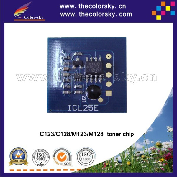 (TY-X123t) compatible smart toner chip for xerox WorkCentre wc C123 C128 M123 M128 <strong>C</strong> <strong>123</strong> 128 M <strong>123</strong> 128 bk 30k pages