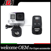 JGJ Customized Camera Accessories For GoPro Hero 4 Session 4 3+ 3 Wifi Remote Control Holder Clip Lock Mount