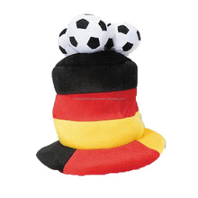 Cheap Folding Crazy Carnival Football Party Fans Hat