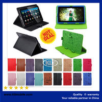 Custom Luxury Fashion PU Leather Keyboard Case For 9.7 Inch WiFi Tablet PC
