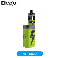 Kanger New Arrival AKD Product Kanger FIVE 6 kit 222W mod power bank Tiger coil max 6 coils output