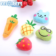 2018 Pet Toys Bulk Cat Toys Plush Catnip Removable Toys for Cat