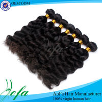 100% grade aaaaa raw unprocessed red color indian remy human hair weaving
