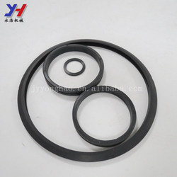 OEM ODM customized various sizes of round silicon gasket o ring seals